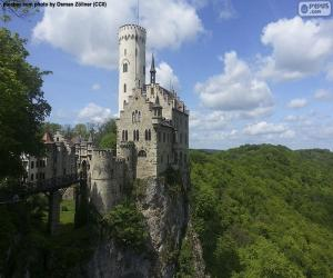Układanka Zamek Lichtenstein, Niemcy