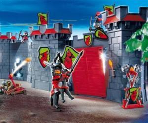 Układanka Zamek Playmobil