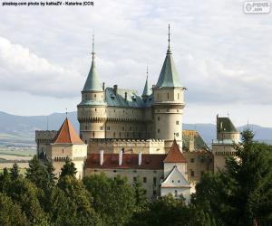 Układanka Zamek w Bojnice, Słowacja