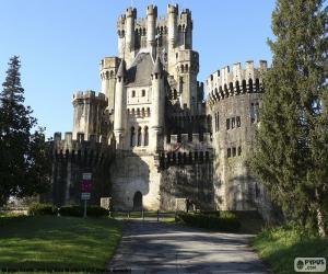 Układanka Zamek w Butron, Hiszpania