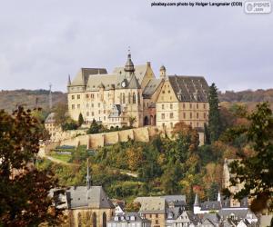 Układanka Zamek w Marburgu, Niemcy