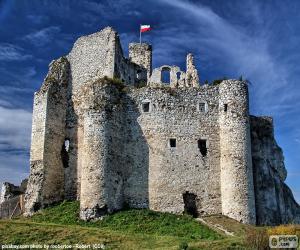 Układanka Zamek w Mirowie, Polska