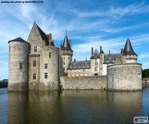 Układanka Zamek w Sully-sur-Loire, Francja