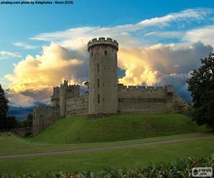 Układanka Zamek w Warwick, Wielka Brytania