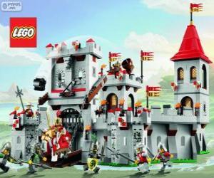 Układanka Zamek z Lego