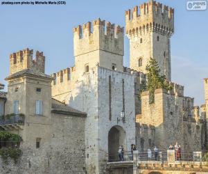 Układanka Zamku Scaligero, Włochy
