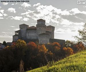Układanka Zamku Torrechiara, Włochy