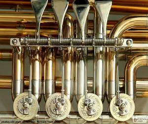 Układanka Zawory z tuba