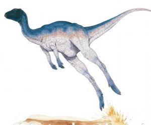 Układanka Zefirozaur był bipedal korytarza tylko 1,8 m długości o wadze 50 kg