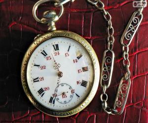 Układanka Zegarek kieszonkowy