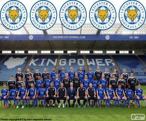 Układanka Zespołu Leicester City 2015-16