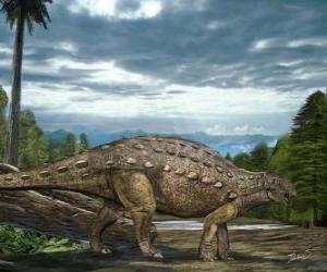 Układanka Zhejiangosaurus żył około 100 do 94 milionów lat temu
