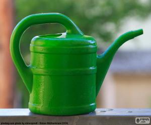 Układanka Zielona konewka