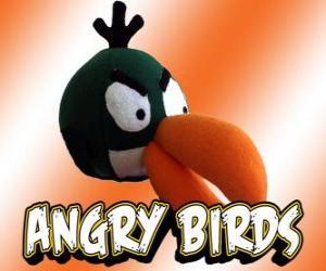 Układanka Zielony Ptak (Green Bird), ptak z efektu bumerangu