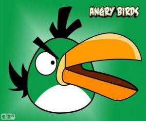 Układanka Zielony Ptak (Green Bird)