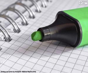Układanka Zielony znacznik