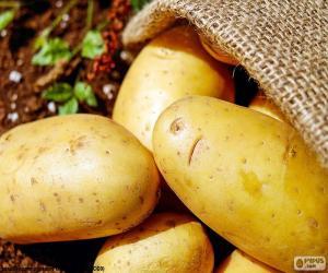Układanka Ziemniaki