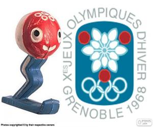 Układanka Zimowe Igrzyska Olimpijskie 1968