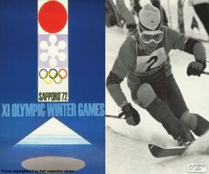 Układanka Zimowe Igrzyska Olimpijskie 1972