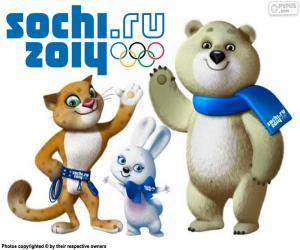 Układanka Zimowe Igrzyska Olimpijskie w Soczi 2014
