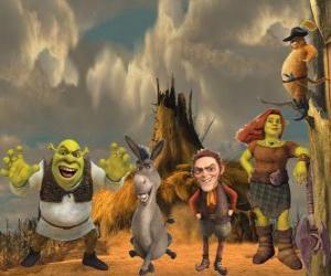 Układanka Znaków, ostatni w filmie Shrek Forever