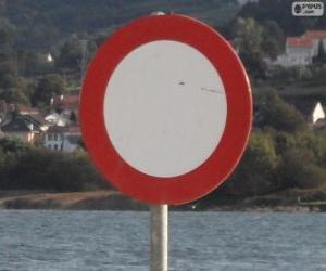 Układanka Znak Zabronione