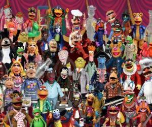 Układanka Znaki Muppety