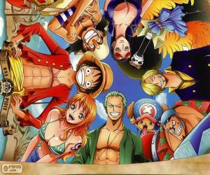 Układanka Znaki z One Piece