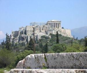 Układanka Zobacz świątynie greckie miasto