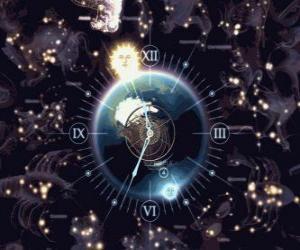 Układanka Zodiak zegara