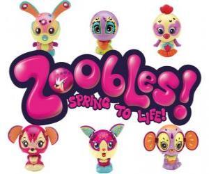 Układanka Zoobles Logo