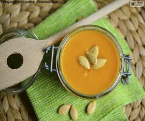 Układanka Zupa z dyni