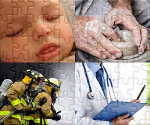 Puzzle Ludzie i Pracę