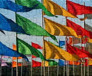 Puzzle Flagi, Godła i Logos