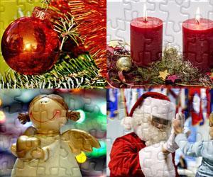 Puzzle Boże Narodzenie - Świąteczne