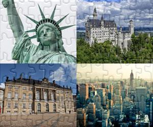 Puzzle Domy, Miasta i Zabytki