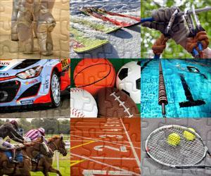 Puzzle Sport i Przygoda