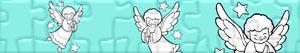 Puzzle Świąteczne Anioły
