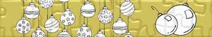 Puzzle Bombki świąteczne