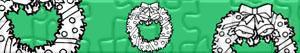 Puzzle Wianki świąteczne i wieńce