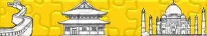 Puzzle Zabytki i innych atrakcje turystyczne w Azja