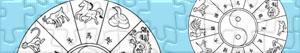Puzzle Horoskop chiński
