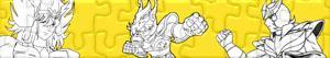 Puzzle Rycerze Zodiaku - Saint Seiya