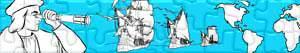 Puzzle Odkrycie Ameryki - Krzysztofa Kolumba