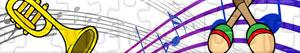 Puzzle Instrumenty muzyczne