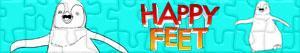 Puzzle Happy Feet: Tupot małych stóp