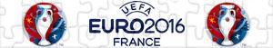 Puzzle UEFA EURO 2016 Francja