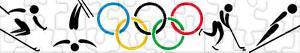 Puzzle Zimowe Igrzyska Olimpijskie