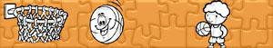 Puzzle Koszykówka - Basketbal