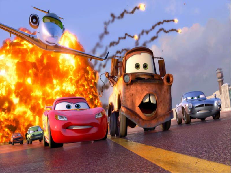 McQueen, Mater and McMission escapes puzzle